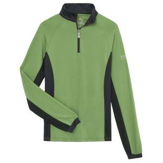 Kastel Denmark Ladies' Charlotte Quarter-Zip Long Sleeve Shirt