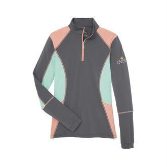 Kastel Denmark Ladies' Charlotte Color Block Long Sleeve Shirt