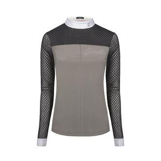 Cavallo® Ladies' Pepita Long Sleeve Show Shirt