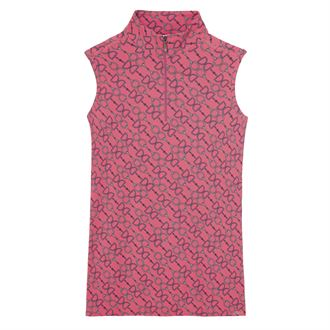 Dover Saddlery® Ladies' CoolBlast® IceFil® Sleeveless Print Shirt