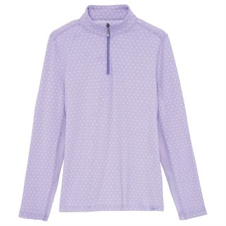Dover Saddlery® Coolblast® Girls' IceFil® Lots-of-Dots Long Sleeve Shirt