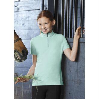 Dover Saddlery® Girls' CoolBlast®IceFil® Short Sleeve Shirt