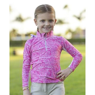 Belle & Bow Equestrian Long Sleeve Sun Shirt