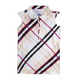 SanSoleil™ Ladies' SolCool® Sleeveless Polo Shirt