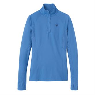 Ariat® Ladies' Lowell Quarter-Zip Solid Top 2.0