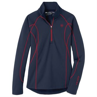 Ariat® Ladies' Conquest Half-Zip Sweatshirt 2.0