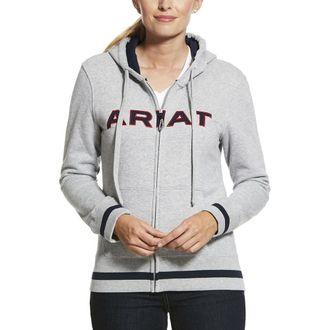 Ariat® Ladies' Logo Full-Zip Hoodie