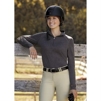Dover Saddlery® Ladies' Valentina Quarter-Zip Shirt
