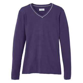 Dover Saddlery Textured Snap Neck Pullover