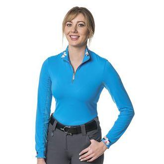 Kastel Denmark Ladies' Floral Collar Shirt
