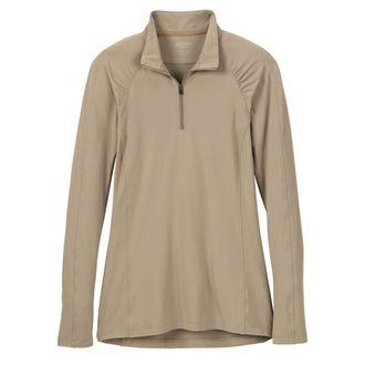 Dover Saddlery® Ladies' HeatBlast™ Quarter-Zip Long Sleeve Shirt