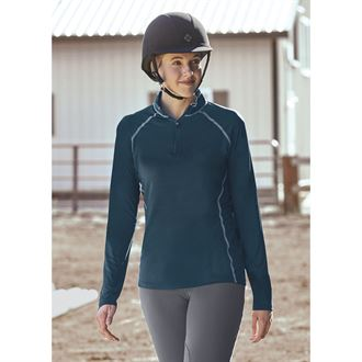 Riding Sport® by Dover Saddlery® Ladies' Quarter-Zip Long Sleeve Shirt