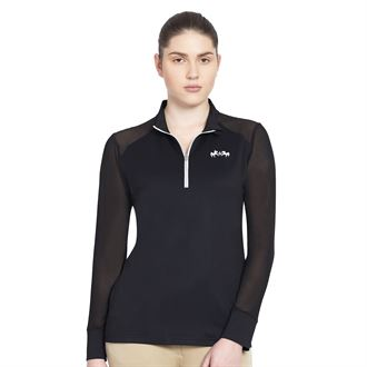 Equine Couture™ Ladies' Erna EquiCool Long Sleeve Sport Shirt