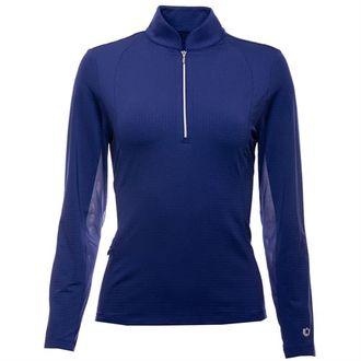 IBKÜL™ Ladies'Collagen Mock Shirt
