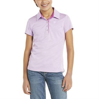 Ariat® Girls' Laguna Short Sleeve Polo Shirt