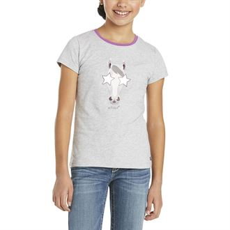 Ariat® Girls' Hollywood Short Sleeve Tee