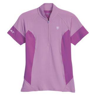 Ariat® Ladies' Cambria Quarter-Zip Short Sleeve Jersey