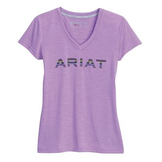 Ariat® Ladies' Laguna Logo Short Sleeve Top