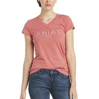 Ariat® Ladies' 3D Logo Short Sleeve Tee