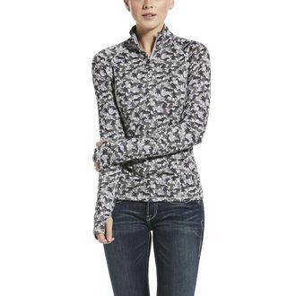 Ariat® Ladies' Lowell Quarter-Zip Solid Top