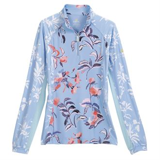 Kastel Denmark Ladies' Mixed Print Long Sleeve Top