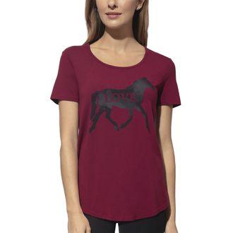 Chestnut Bay™ Ladies'Rider Fashion Love Horse Sun Tee