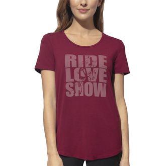 Chestnut Bay™ Ladies'Rider Fashion Ride Love Show Sun Tee