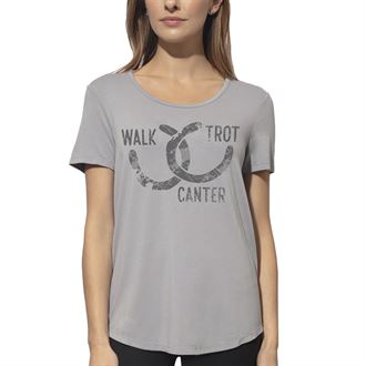 Chestnut Bay™ Ladies' Rider Fashion Lucky Shoes Sun Tee