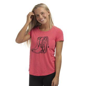 Chestnut Bay™ Ladies' Rider Fashion Boots N Lasso T-Shirt