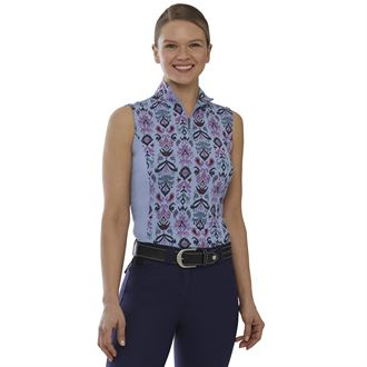 Dover Saddlery® Ladies' CoolBlast® 100 Print Sleeveless Shirt