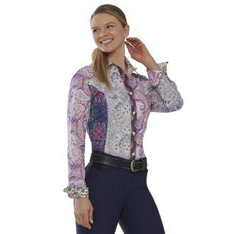 Dover Saddlery® Ladies' Mixed Paisley Button-DownShirt