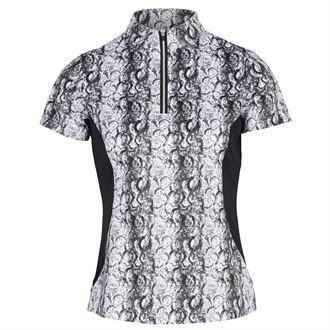 Horze Limited Edition Ladies' Hoof Print Technical Shirt