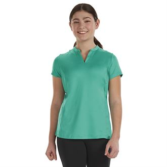 Stride® by Dover Saddlery® Girls' Notch-V Tech Tee