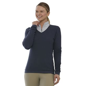 Dover Saddlery® Ladies' V-Neck AirCool Tech Sweater