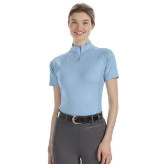 Noble Equestrian™ Ladies' Ashley + Short Sleeve Print Shirt