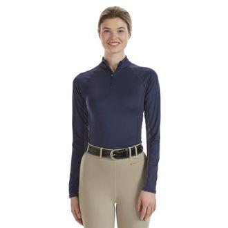 Noble Equestrian™ Ladies' Ashley + Long Sleeve Solid Shirt