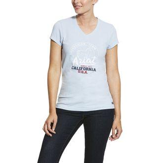 Ariat® Ladies' Script Logo Short Sleeve Tee