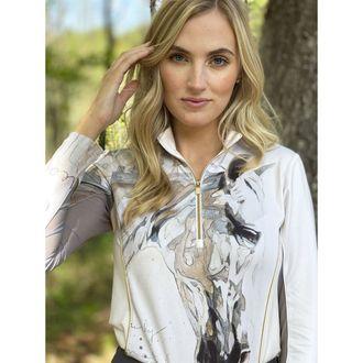 Arista® Ladies' Elise Genest Beautifully Quarter-Zip Top