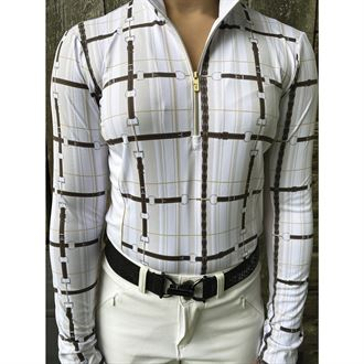 Arista® Ladies' Straps Long Sleeve Shirt