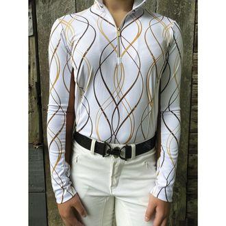 Arista® Ladies' Waving Reins Long Sleeve Shirt