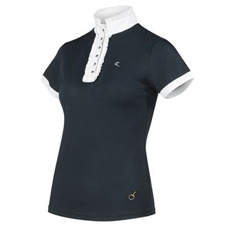 Horze Ladies' Christel Ruffle Show Shirt