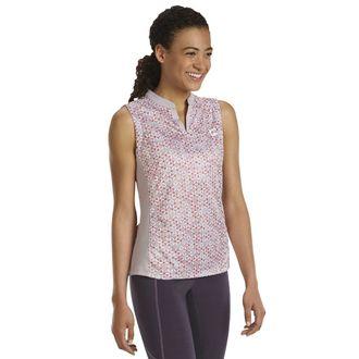 Riding Sport™ by Dover Saddlery® Ladies'Air Cool Notch-V Sleeveless PrintShirt