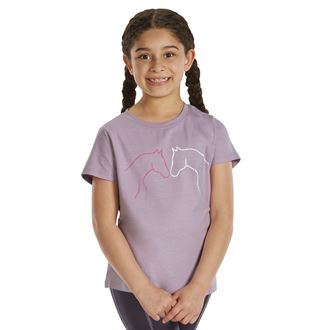 Riding Sport™ by Dover Saddlery® Girls' Horsehead Tee