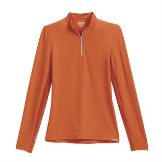 Dover Saddlery® CoolBlast® 100 Ladies' Mandarin Neck Quarter-Zip Top