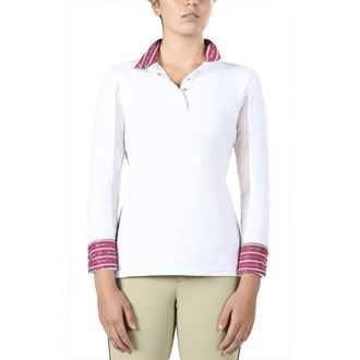 Irideon®Ladies' Ciara CoolDown® Icefil® Long Sleeve Show Shirt
