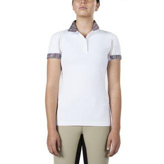 Irideon® Ladies' CoolDown® IceFil® Short Sleeve Show Shirt