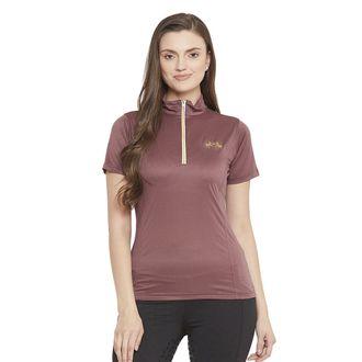 Equine Couture™ Ladies' Surya EquiCool Short Sleeve Sun Sport Shirt
