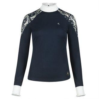 Horze Ladies' Sylvie Lace Show Shirt
