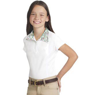 Ovation® Children's Ellie Quarter-Snap Short Sleeve Tech Show Shirt