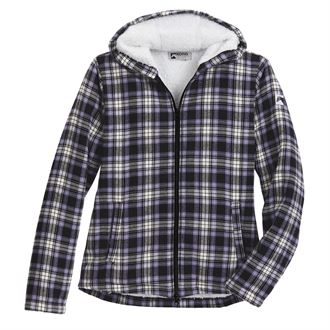 Riding Sport by Dover Saddlery® Ladies' Lancaster Sherpa-Lined Flannel Hoodie